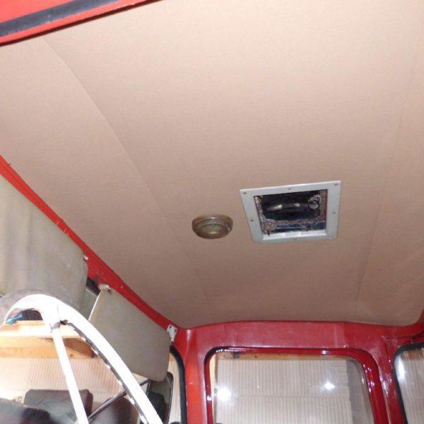 Daf tanker klassiek hemel vernieuwen de autobekleder for Auto interieur vernieuwen